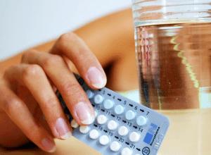 Приём противозачаточных препаратов