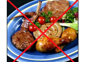 Исключить жирные блюда