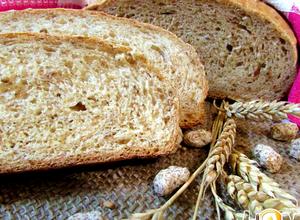 отрубном хлебе