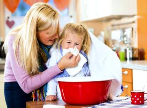 При лечении детей