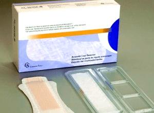 тест-прокладка для определения молочницы