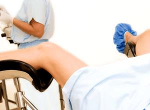 осмотр на гинекологическом кресле