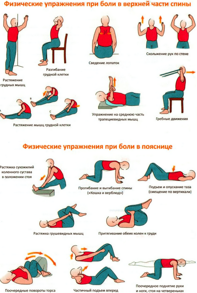 Боли при протрузиях грудного отдела