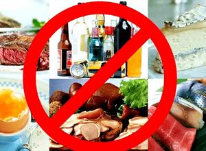 запрещённые продукты при мочекаменной болезни