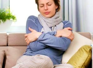 высокая температура лихорадка озноб