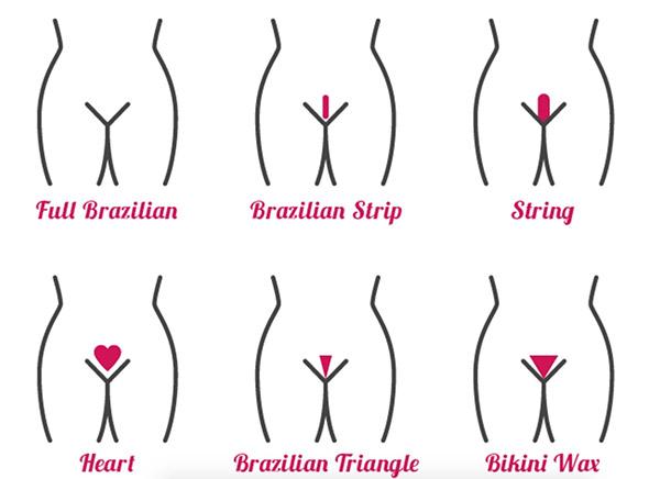 Интимные причёски для женщин