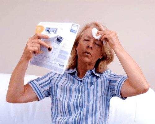 Лечение приливов при климаксе