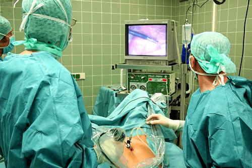 Лапароскопия маточных труб